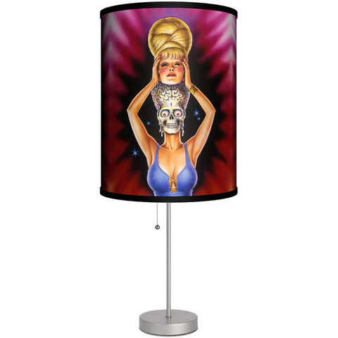 Lamp-In-A-Box Mars Attacks Martian Unmasked Table Lamp