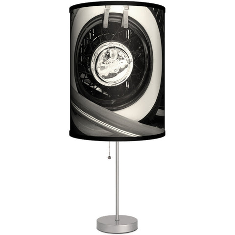 Lamp-In-A-Box Tire Table Lamp