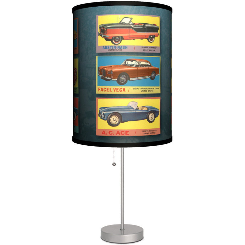 Lamp In A Box Vintage Cars Table Lamp