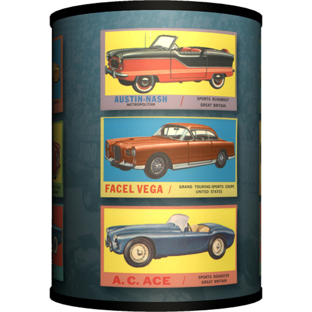 Lamp In A Box Vintage Cars Table Lamp Classic Cars