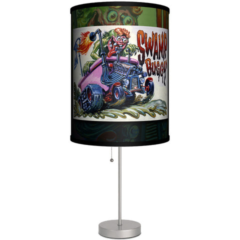 Lamp-In-A-Box Weird Wheels Swamp Buggy Table Lamp