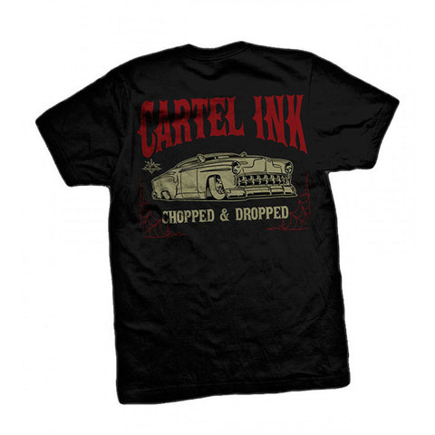 Men's Cartel Ink Chopped and Dropped T-Shirt Hot Rod Lead Sled Classic Car