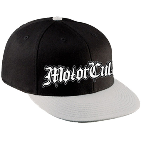 Men's MotorCult Sterling Trucker Hat Black Logo