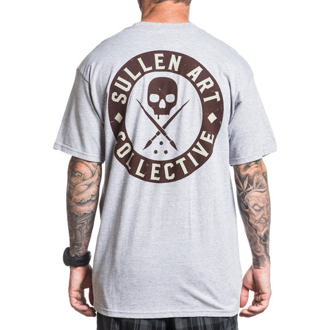 Men's Sullen Badge of Honor Bricks Premium T-Shirt Athletic Heather