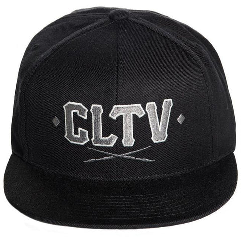 Sullen CLTV Snapback Hat Black/Grey Tattoo Art Lifestyle Brand