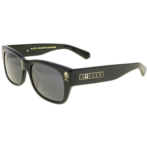 Sullen Next Chapter Sunglasses Gloss Black Black Flys Collab Tattoo Lifestyle
