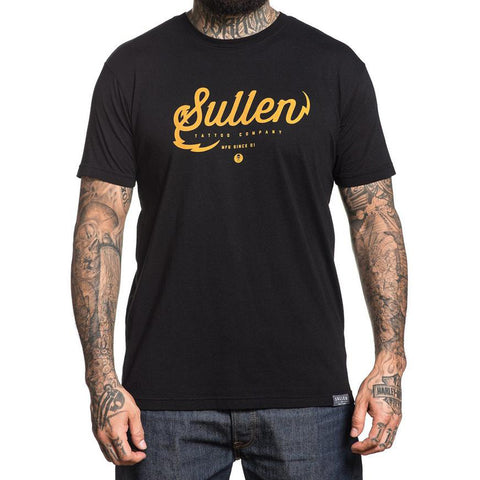 Men's Sullen Tattoo Company T-Shirt Black Tattoo Art Lifestyle