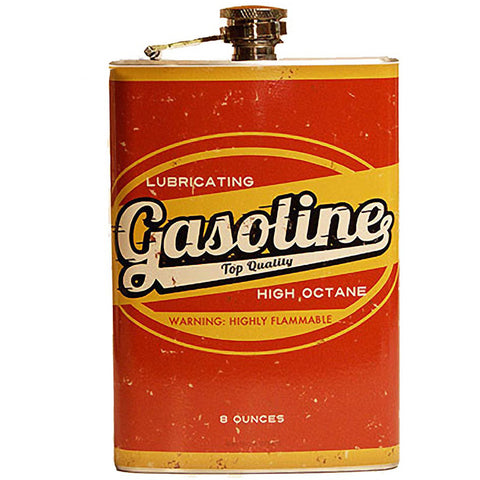 Retro-a-go-go! Gasoline Flask Muscle Cars Hot Rod Vintage 50s