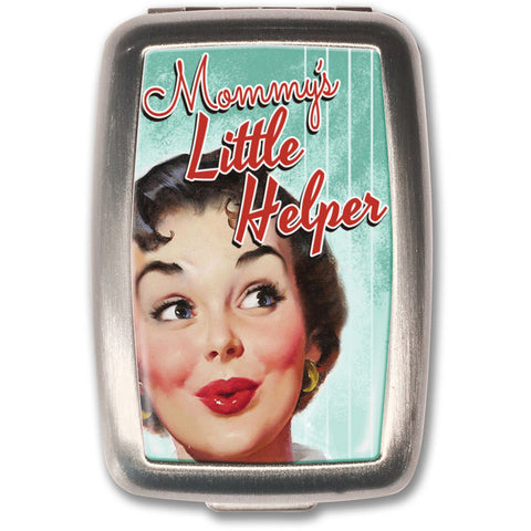 Retro-a-go-go! Mommy's Little Helper Pill Box Retro Humor