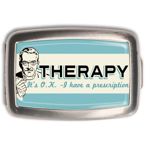 Retro-a-go-go! Therapy Pill Box Rockabilly Tattoo Vintage 50s