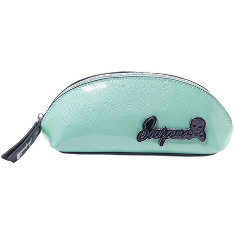 Sourpuss Clothing Super Floozy Makeup Bag Seafoam Retro Rockabilly Pin Up