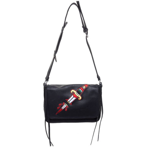 Sourpuss Dagger Cheap Thrills Purse Black Traditional Tattoo