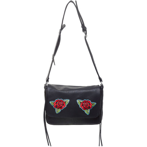Sourpuss Traditional Roses Cheap Thrills Purse Black Tattoo