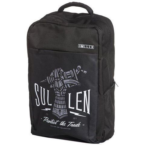 Sullen Project Backpack Iron Hand Black Tattoo Machine Tattoo Art Lifestyle