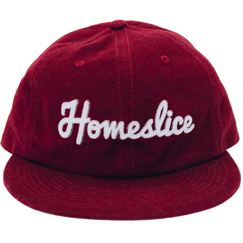 Pyknic Homeslice Pizza Strapback Hat Brandywine Red Food Funny