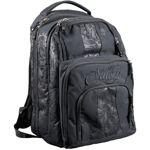 Sullen Blaq Paq Onyx Black Traveling Tattoo Artist Bag Backpack Lifestyle