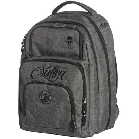 Sullen Blaq Paq Onyx Globe Edition Grey/Black Tattoo Artist Backpack