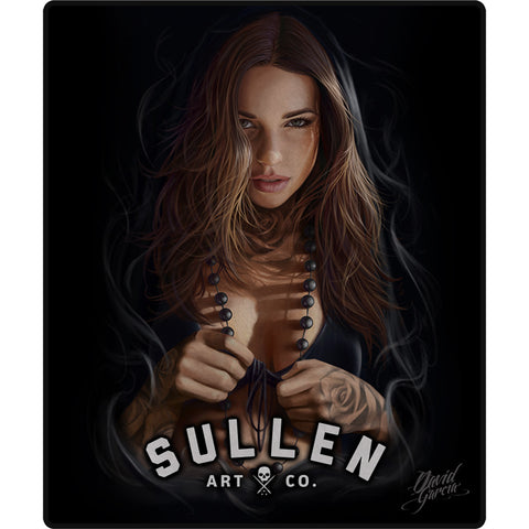 Sullen Blessing Queen Size Blanket Tattooed Girl Tattoo Lifestyle Brand