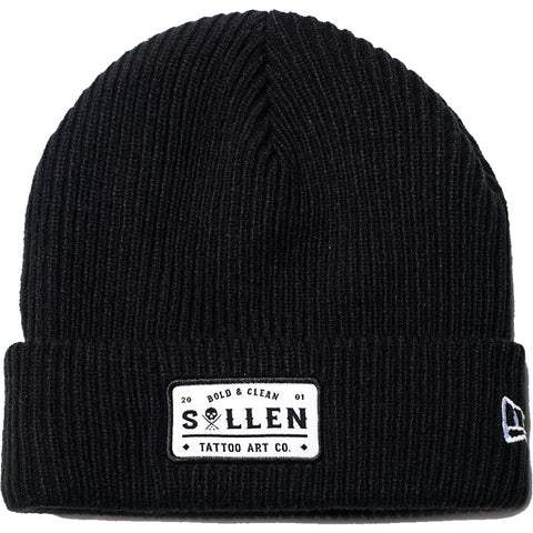 Sullen Bold and Clean Beanie Black Tattoo Art Lifestyle