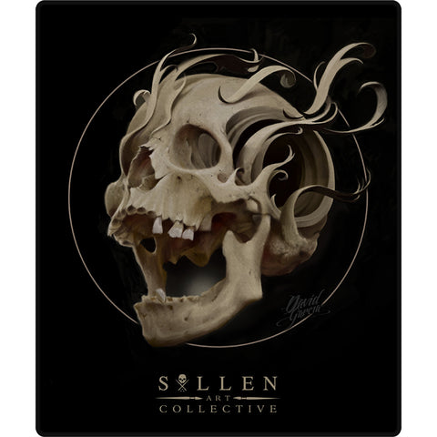 Sullen Bone Filigree Queen Size Blanket Skull Tattoo Lifestyle Brand
