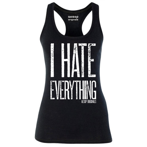 Women's Aesop Originals I Hate Everything Tank Top