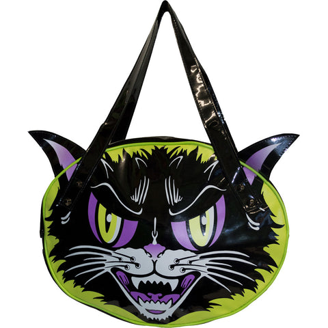 Kreepsville 666 Kattitude Shoulder Bag Black