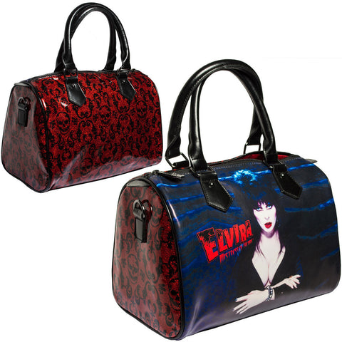 Women's Kreepsville Elvira Glitter Red Purse Bag Mistress of the Dark Horror