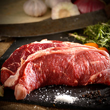 Load image into Gallery viewer, Halal Grass Fed Lamb Sirloin Steak (2 steaks )