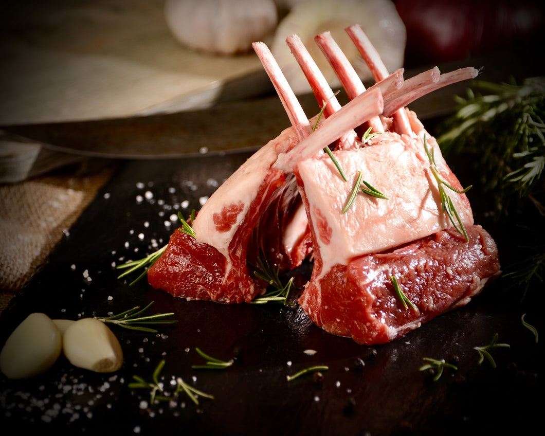 Halal Grass Fed Lamb Rack 2.5-3lb