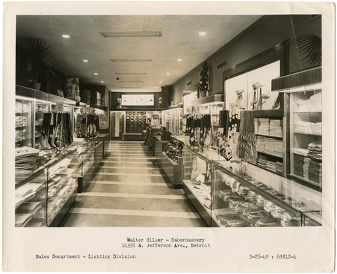 Hiller Dry Goods store in 1949.