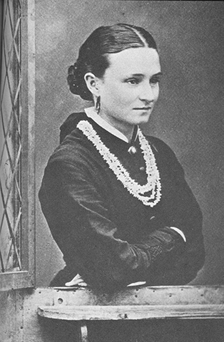 Edith Cowan as a young woman.