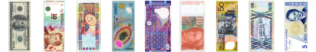 Design inspirations for Hiller Dry Goods Currency Blankets