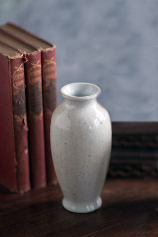 white ceramic vase mini