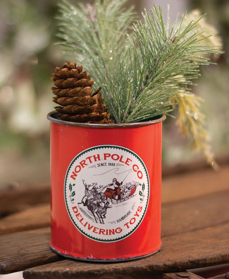 north pole co novelty can