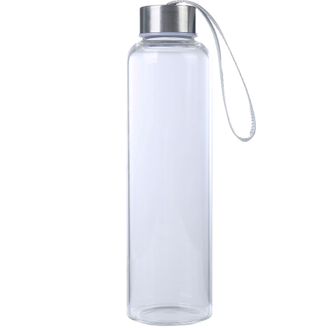 CUSTOMIZED GLASS WATER BOTTLE