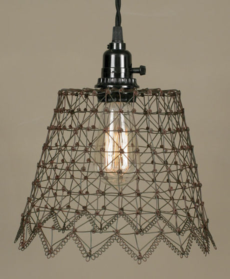 French Wire Plug-In Pendant Lamp