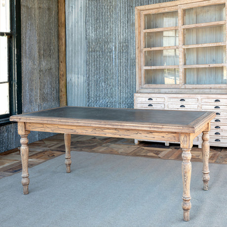 Park Hill Zinc Top Farmhouse Table