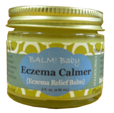 2 oz jar of eczema balm