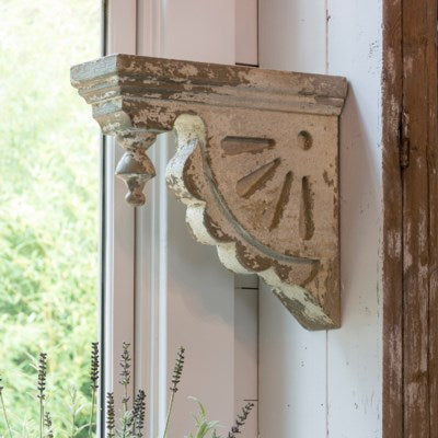ornate corbel wall relic