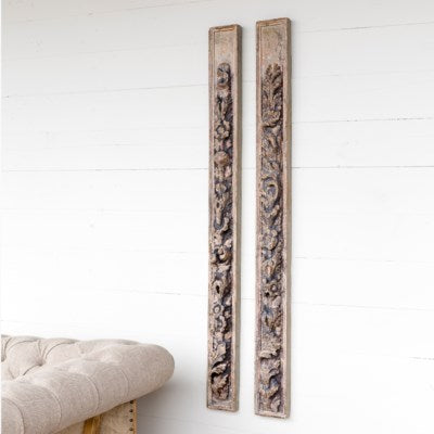 cathedral carved wall moldings