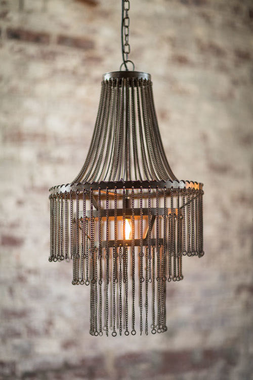 Small Chain Chandelier