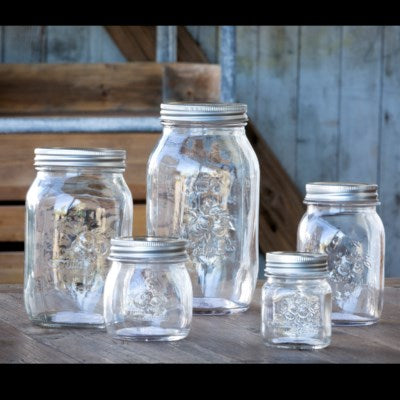 park hill mason jar canister set