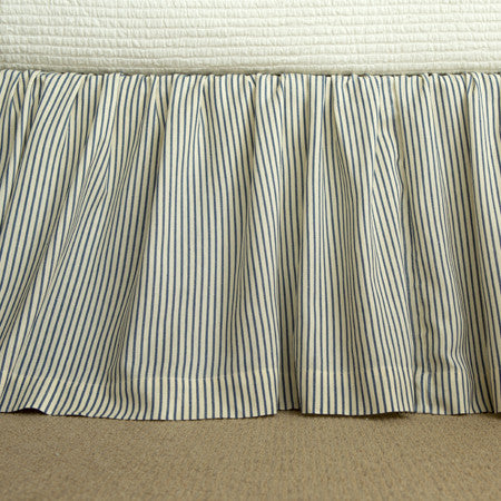 Camden Striped Bedskirt