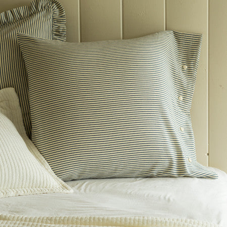 Camden Striped Euro Pillowcase