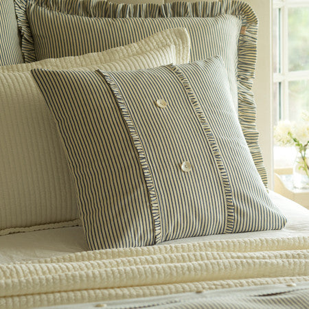 Camden Striped Porch Pillow