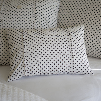 Dottie Black Boudoir Pillow