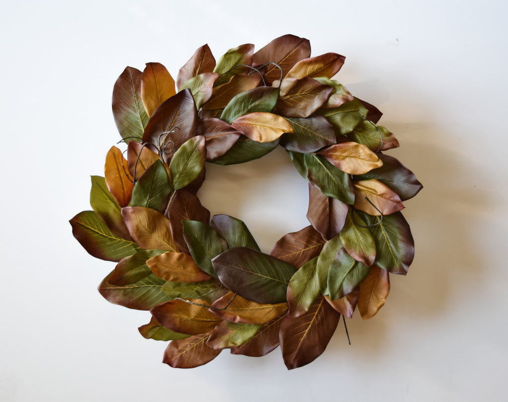 Magnolia Fall Fiesta Wreath