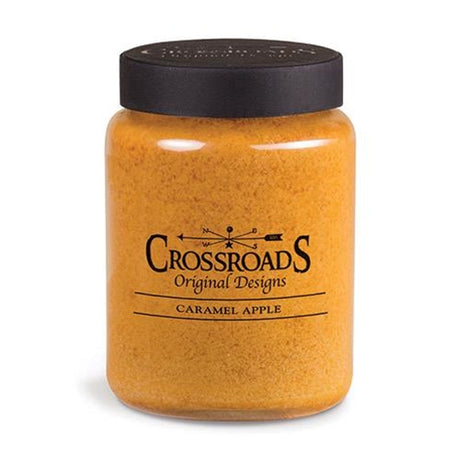 Crossroads Candles--Caramel Apple Jar Candle 26oz