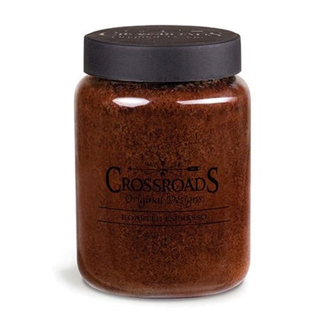 roasted espresso jar candle