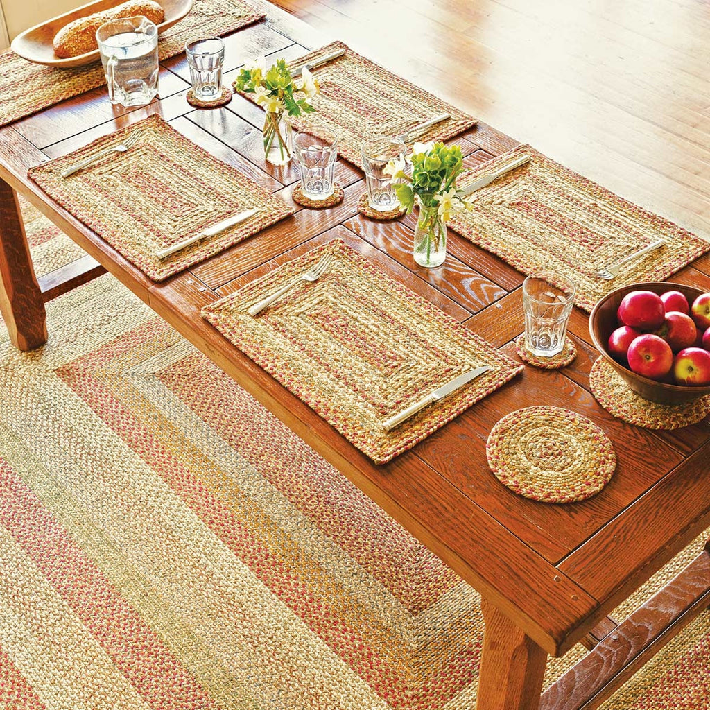 HOMESPICE BRAIDED RUG